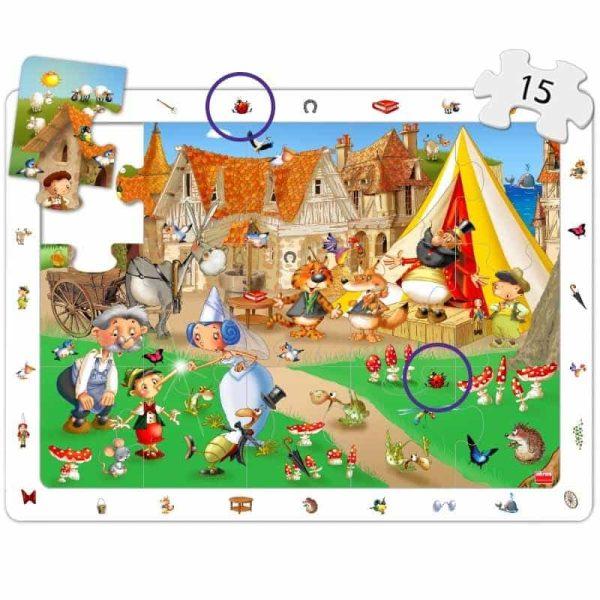 Puzzle 4 in 1 - Povesti Clasice 5