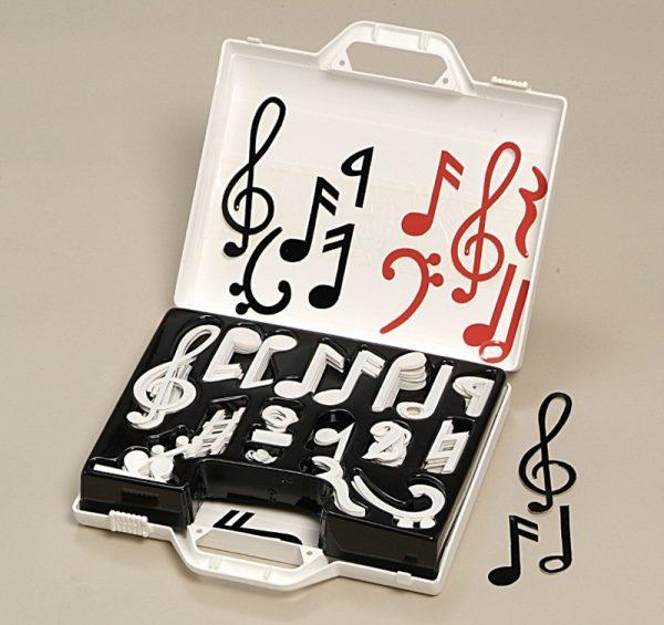 Note muzicale magnetice 1