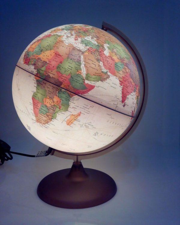 Glob geografic pamantesc iluminat Discovery 2