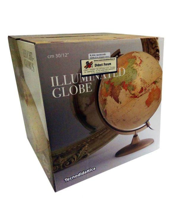 Glob geografic pamantesc iluminat Discovery 6