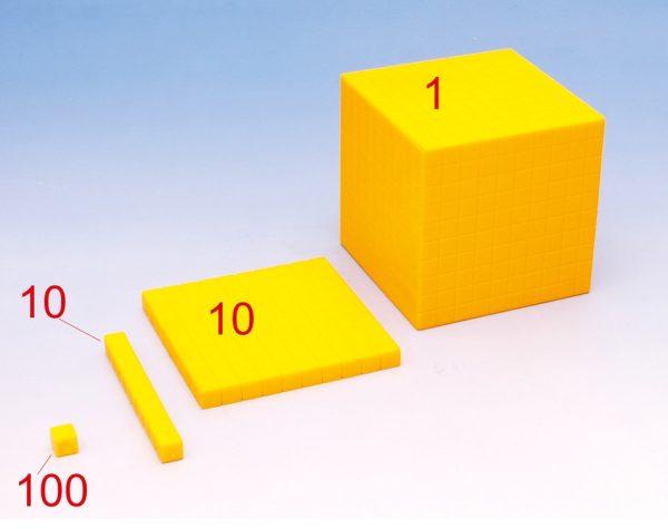 Decimetru cub demontabil 2