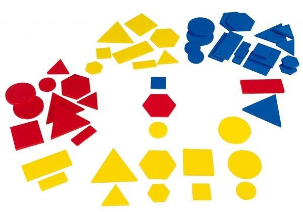 Forme geometrice din plastic 2