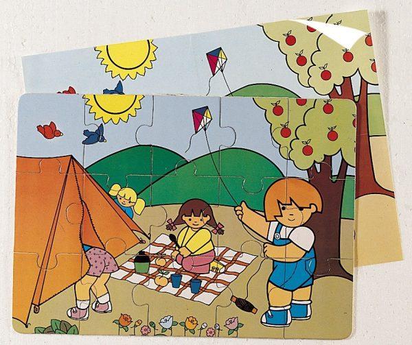 Puzzle - Zaro la Camping 1