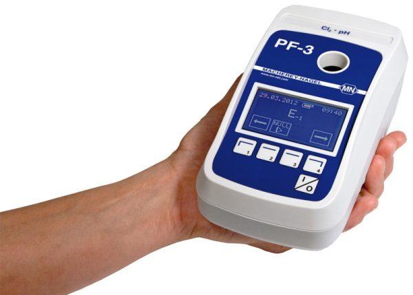 Fotometru compact pentru Apa Potabila cu set reactivi Clor si pH 5
