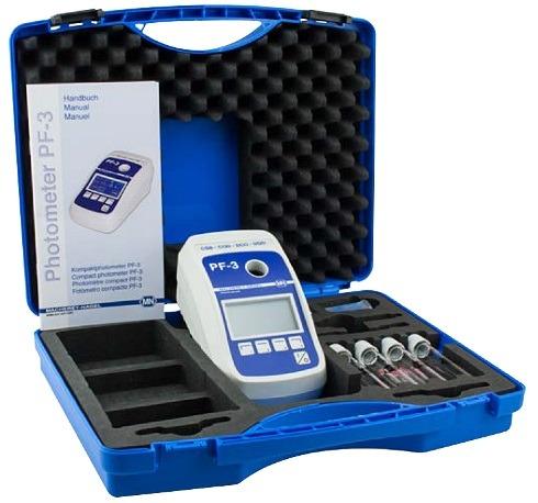 Fotometru compact pentru Apa Potabila cu set reactivi Clor si pH 6