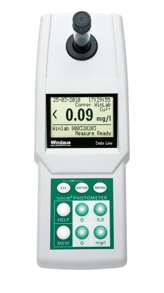 Fotometru Data Line LED in valiza 4
