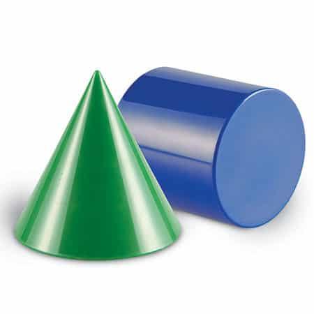 Corpuri geometrice din plastic - 10 piese 3
