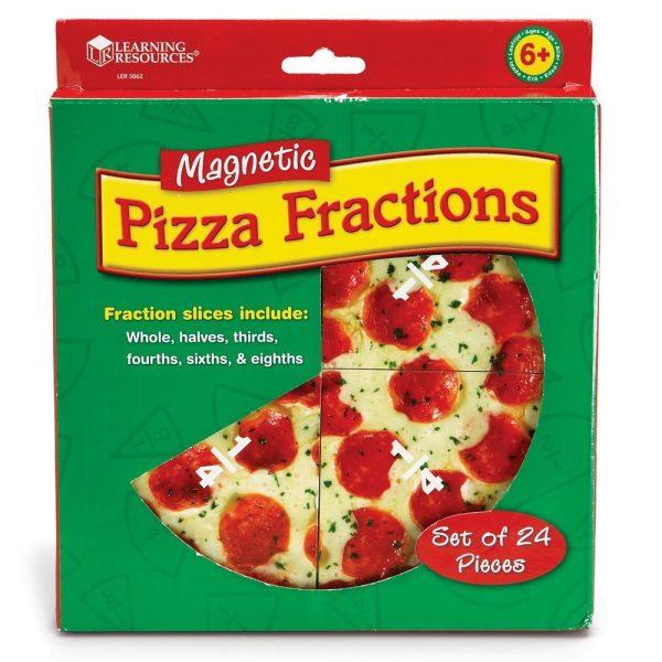 Pizza fractiilor cu magneti 5