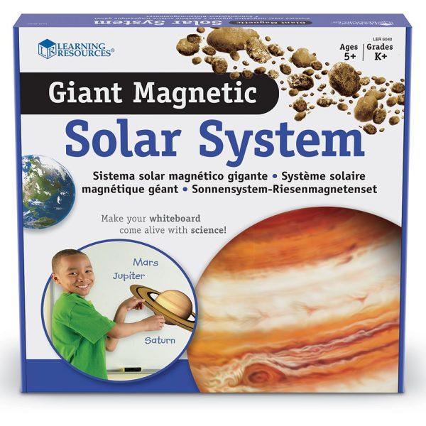 Sistem solar magnetic 4