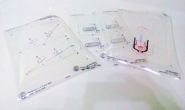 Set folii retroproiector FIZICA 1
