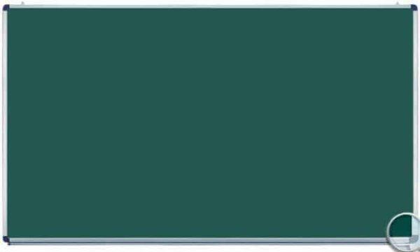 Tabla scolara monobloc verde 2