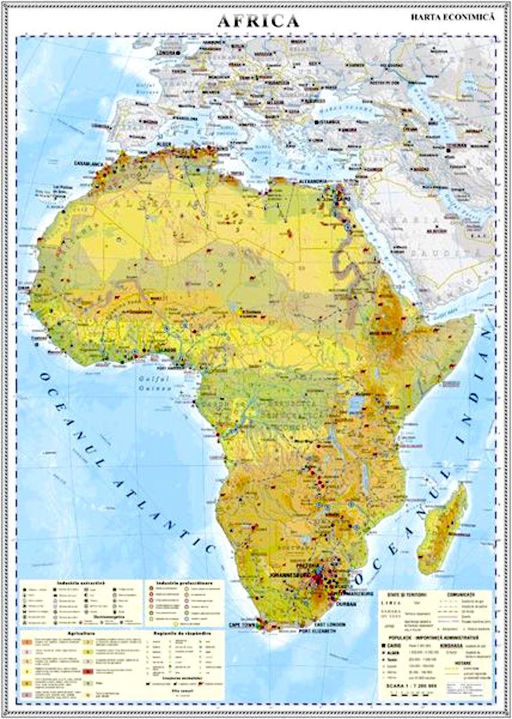 Africa Harta Economica Materialedidactice Ro