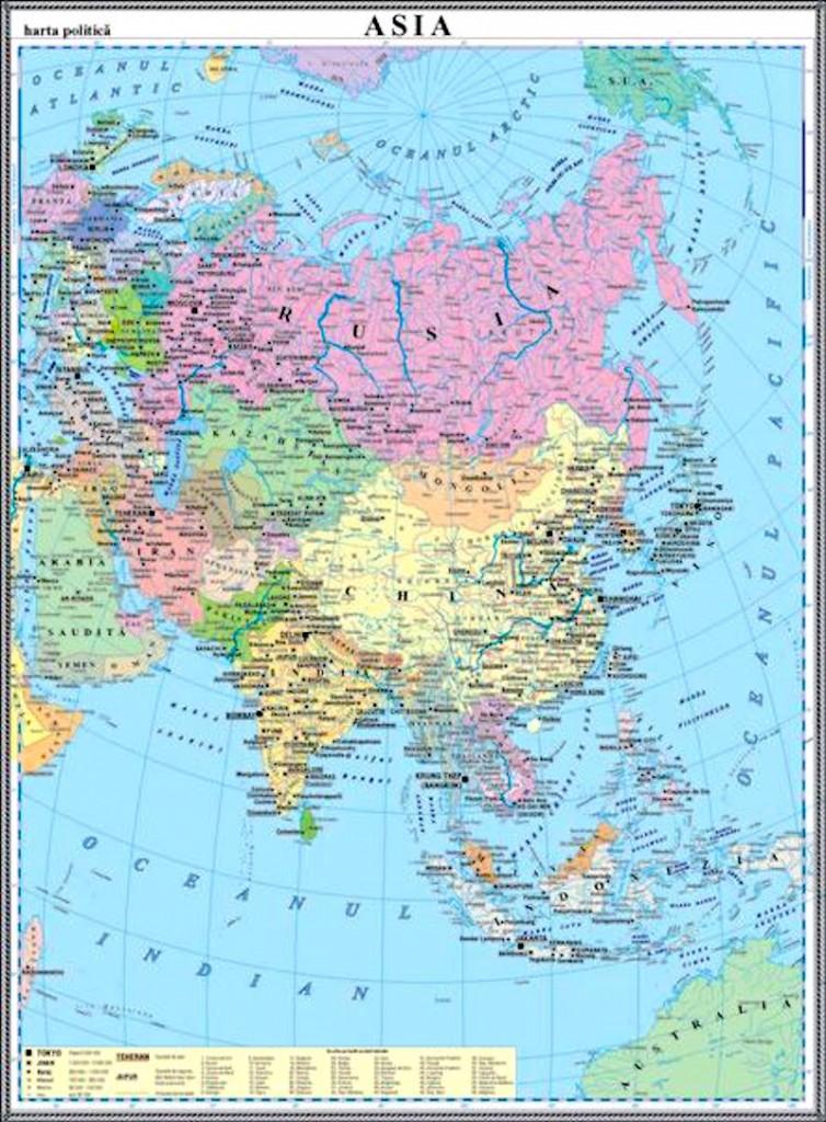 Asia Harta Politica Materialedidactice Ro