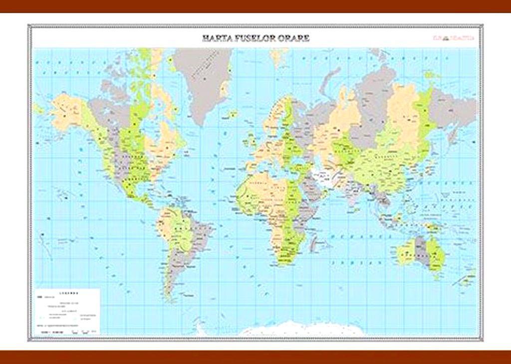 Harta Fuselor Orare Materialedidactice Ro