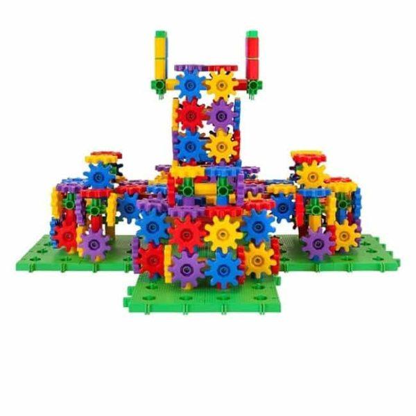 Set de construit din roti dintate - 430 piese 2