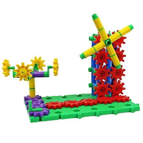 Set de construit din roti dintate - 430 piese 3