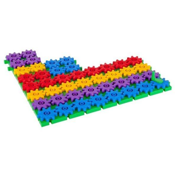 Set de construit din roti dintate - 430 piese 5