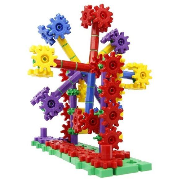 Set de construit din roti dintate - 430 piese 6