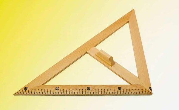 Echer de 45° - lemn 1