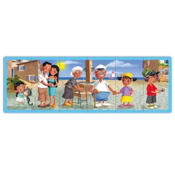 Set puzzle familiile lumii 3