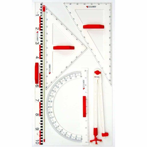 Trusa de instrumente geometrice pentru tabla 1