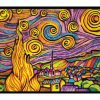 Plansa de colorat catifea - Printesa 4