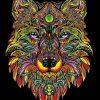 Plansa de colorat catifea - Printesa 3