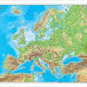 70x50 Europa fizica - Definitiva corectata 2017 BUNA