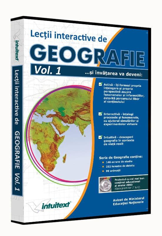 Pachet Geografie Liceu 2