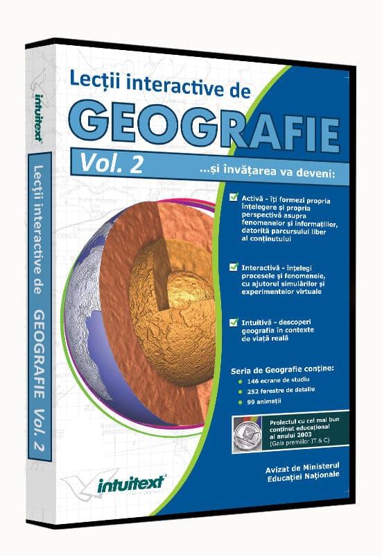 Pachet Geografie Liceu 3