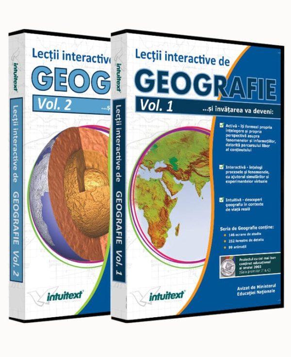 Pachet Geografie Liceu 1