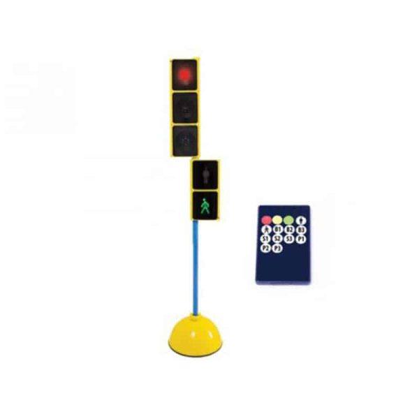 Semafor sincronizat educatie rutiera 2
