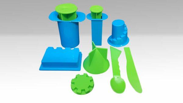 Forme De Modelat - Castle Molds pentru nisipul modelabil kinetic 3