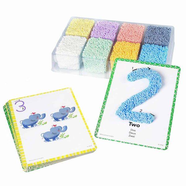 Spuma de modelat - Set Cifrele 3