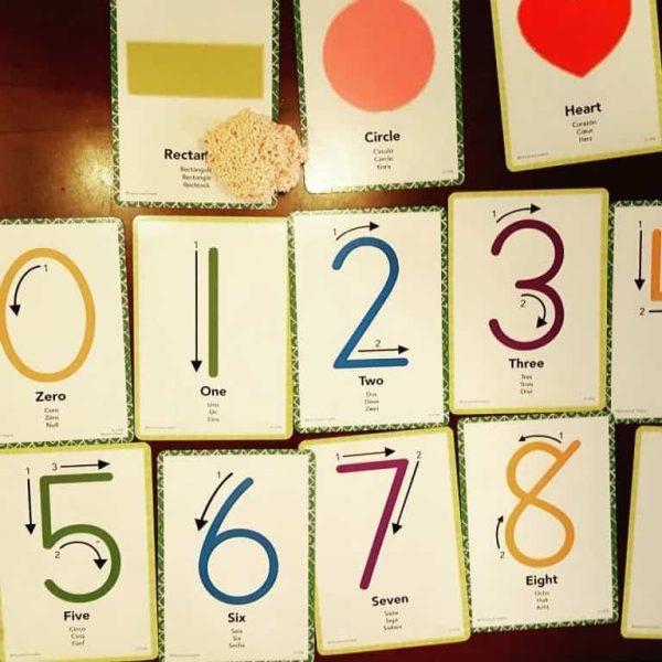 Spuma de modelat - Set Cifrele 10