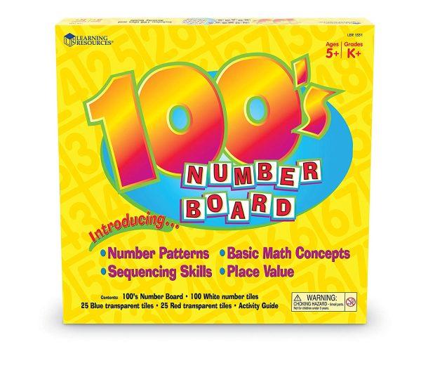 Tabla cu 100 de numere 4