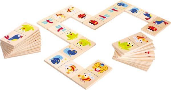 Domino cu figuri colorate Animale 1