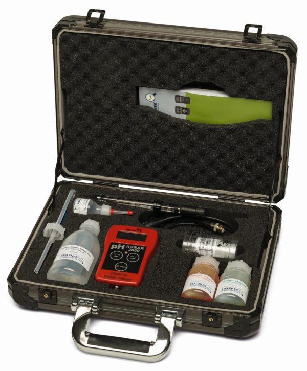 pH-metru pentru sol - cu electrod special din sticla 1