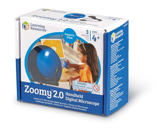 Microscop digital portabil Zoomy™ 2.0 5