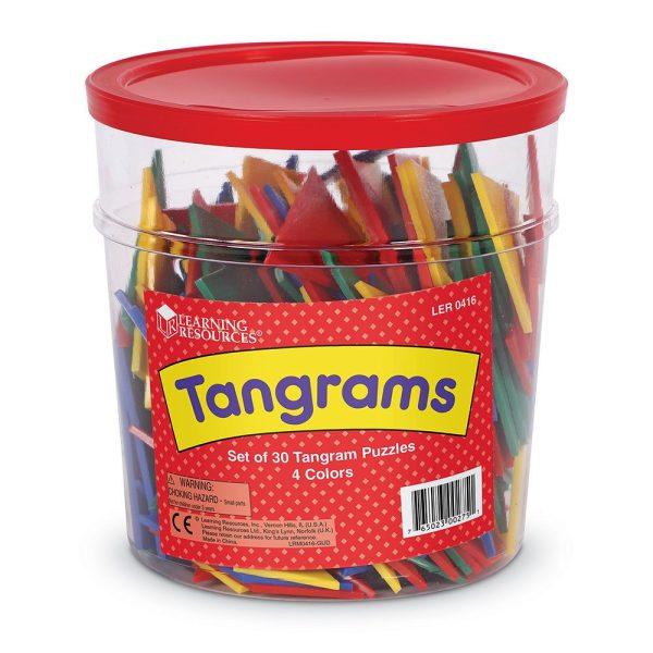 Tangram - set pentru clasa 5